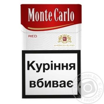 Купить сигареты монте карло one zumerret сигареты купить в казахстане