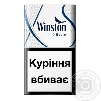 Сигареты Winstоn XStyle Blue - купить, цены на Фуршет - фото 1