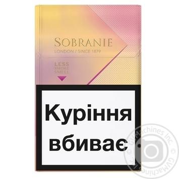 Sobranie KS Super Slim Golds Cigarettes - buy, prices for EKO Market - photo 2
