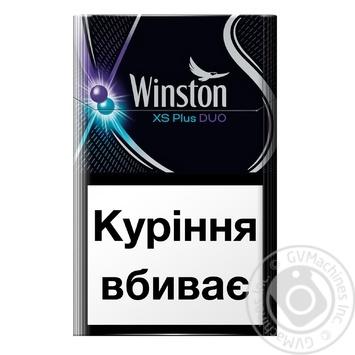Сигареты Winston XS Plus Duo - купить, цены на Novus - фото 1