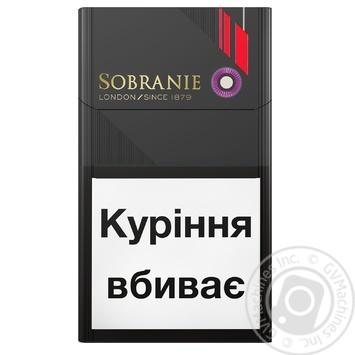Сигареты Evolve Sobranie - купить, цены на Novus - фото 1