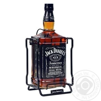 Виски Jack Daniel`s Old No. 7 40% 3л - купить, цены на Фуршет - фото 2