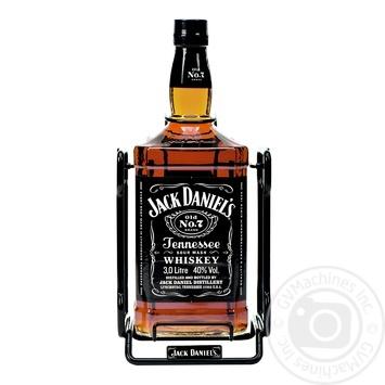 Jack Daniel`s Old No. 7 Whiskey 40% 3l - buy, prices for Novus - image 1