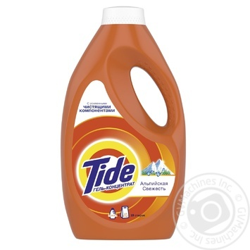 Tide Alpine Fresh Liquid Laundry Detergent 1,235l - buy, prices for Furshet - image 1