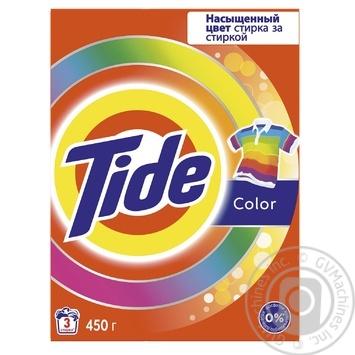 Порошок пральний Tide Color автомат 450г - купити, ціни на Novus - фото 1