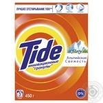 Порошок стиральный Tide Альпийская свежесть автомат 450г