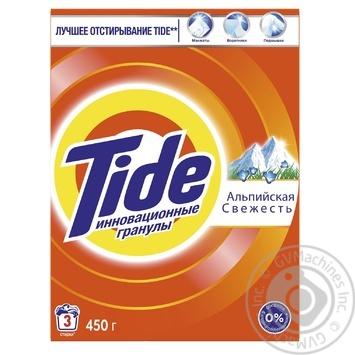 Tide Alpine Fresh Automat Laundry Powder Detergent 450g - buy, prices for Novus - image 1