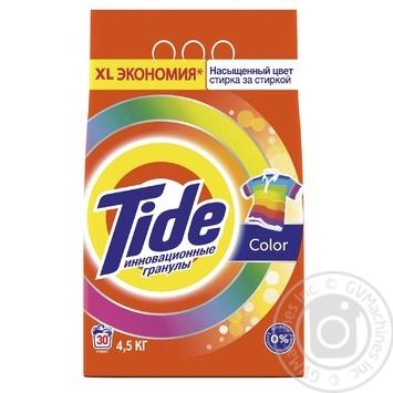 Tide Color Automat Laundry Powder Detergent 4,5kg - buy, prices for Novus - image 1