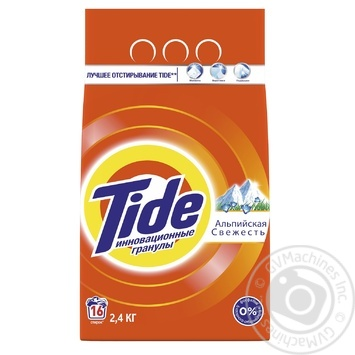 Tide Alpine Fresh Automat Laundry Powder Detergent 2,4kg - buy, prices for Novus - image 1