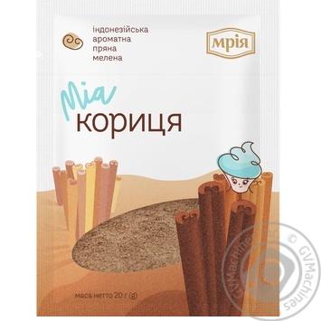 Корица Мрия молотая 20г - купить, цены на Novus - фото 1
