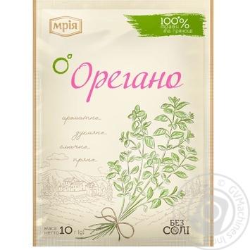 Приправа Мрия Орегано 10г - купить, цены на Novus - фото 1