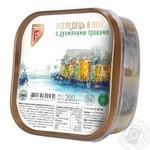 Сельдь Flagman филе-кусочки в масле с душистыми травами 200г