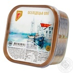 Fish herring Flagman preserves 300g hermetic seal