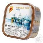 Филе-кусочки сельди Флагман Матье в масле 300г