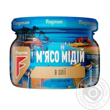 Мидии Flagman в масле 200г - купить, цены на ЕКО Маркет - фото 4