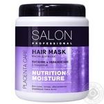 Маска для волос Salon Professional Питание и увлажнение 1л - купить, цены на Novus - фото 1