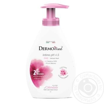 Гель для интимной гигиены Dermomed с єкстрактом календулы 300мл - купить, цены на Novus - фото 1