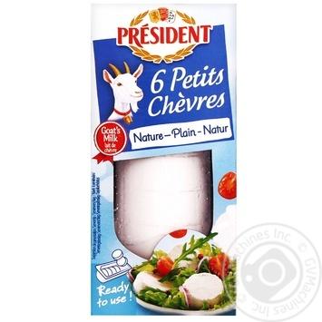 Сир President з козячого молока 45% 100г - купити, ціни на CітіМаркет - фото 1