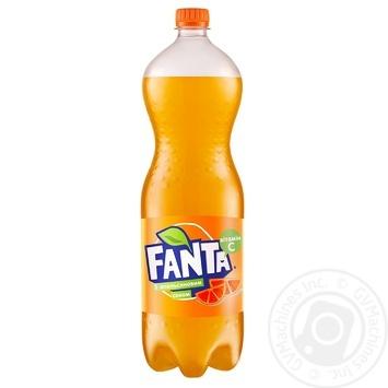 Напиток Фанта Апельсин 1,5л - купить, цены на Novus - фото 1