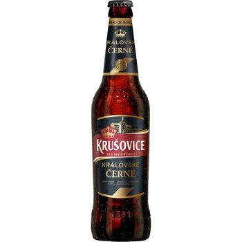 Krusovice Cerne Beer dark 3,8% 0,5l - buy, prices for CityMarket - photo 1
