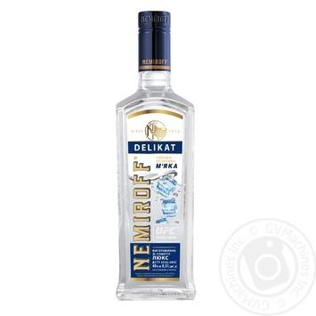 Nemiroff Delikat Soft Special Vodka 40% 0.5l - buy, prices for Novus - image 1