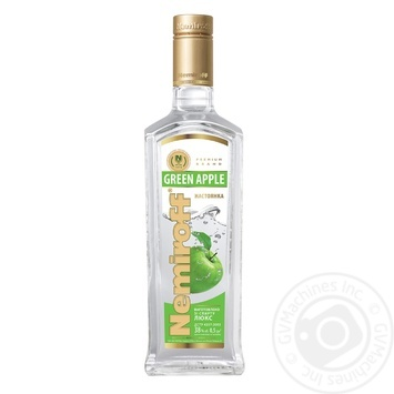 Nemiroff Green Apple flavoured vodka 0,5l - buy, prices for Novus - image 1