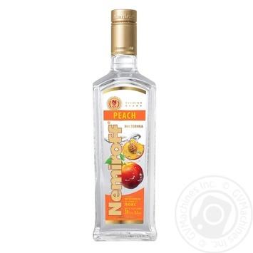 Nemiroff Peach flavoured vodka 0,5l - buy, prices for Novus - image 1