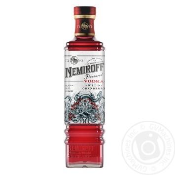 Nemiroff Tincture Wild Cranberry De Luxe FV 40% 0,5l - buy, prices for Novus - image 1
