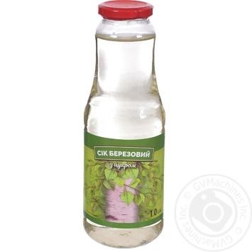 Сок Березовый с сахаром 1л - купить, цены на Космос - фото 1