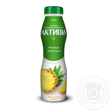 Біфідойогурт Активіа ананас 1.5% 290г - купити, ціни на Фуршет - фото 1