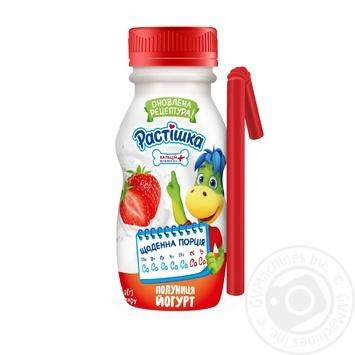 Rastishka Strawberry Flavored Yogurt 1,5% 185g