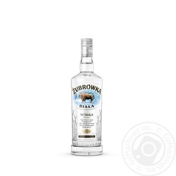 Водка Zubrowka Biala 0,7л - купить, цены на Novus - фото 1