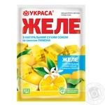 Желе Украса смак лимона 90г