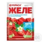 Желе Украса вкус клубники 90г