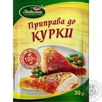 Приправа Любисток к курице 30г - купить, цены на Novus - фото 1