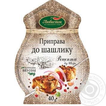 Spices Lyubystok to the shashlick 40g - buy, prices for Novus - image 1