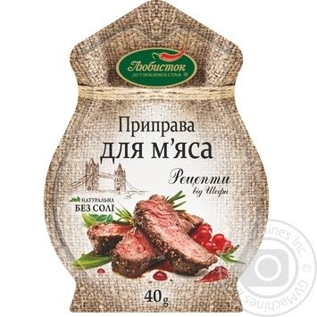 Spices Lyubystok for meat 40g - buy, prices for Furshet - image 1