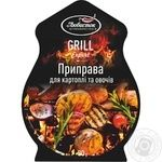 Spices Lyubystok Grill for vegetables 30g packaged - buy, prices for Furshet - image 1