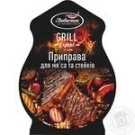 Приправа Любисток Гриль эксперт для мяса и стейков 30г - купить, цены на Фуршет - фото 1