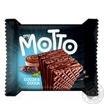 Вафли Mymotto с какао 34г