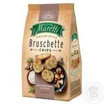 Хлебные брускеты Maretti запеченные со вкусом грибы со сметаной 140г