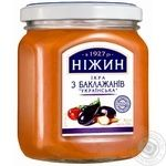 Nizhyn Canned Сaviar Eggplant - buy, prices for Novus - image 1