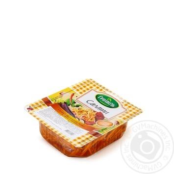 Салат Гринвиль из баклажанов и моркови по-корейски 350г - купить, цены на Novus - фото 1