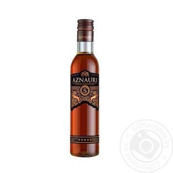Aznauri Cognac 5* 0,25l - buy, prices for Novus - photo 1