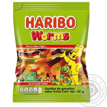 Конфеты желейные Haribo Worms 80г