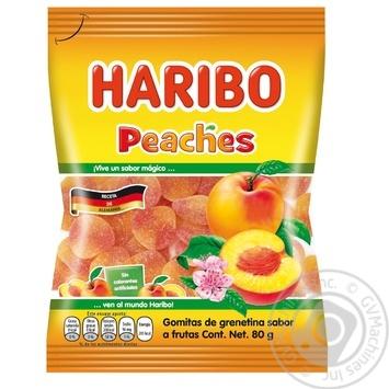 Haribo Peach Jelly Sweets 80g
