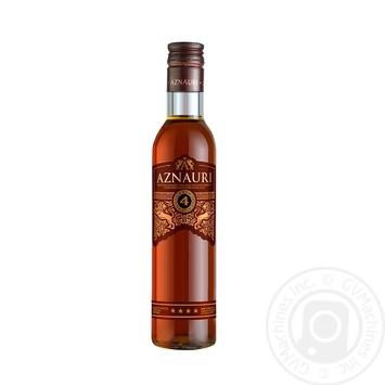 Aznauri Cognac 4* 40% 0.25l