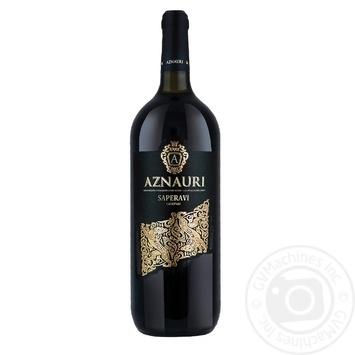 Aznauri Saperavi Red Dry Wine 11% 1.5l