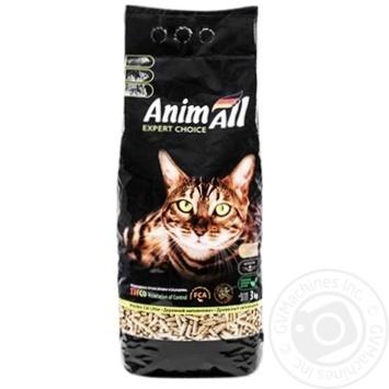 Древесный наполнитель Animall 3кг - купить, цены на Novus - фото 1