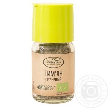 Тимьян Любисток органический 13г - купить, цены на Ашан - фото 1